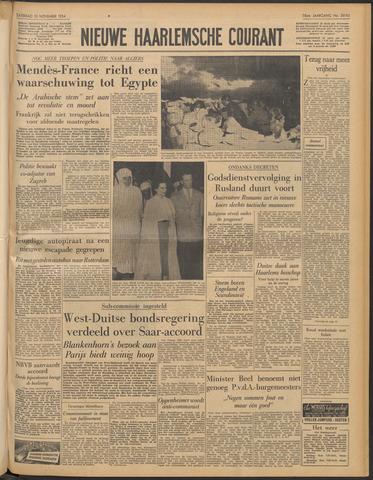 Nieuwe Haarlemsche Courant 1954-11-13