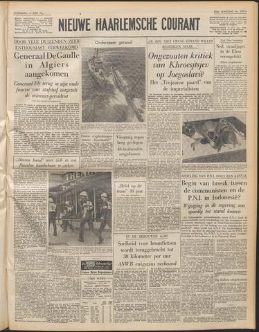 Nieuwe Haarlemsche Courant 1958-06-04