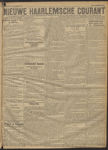 Nieuwe Haarlemsche Courant 1918-11-18