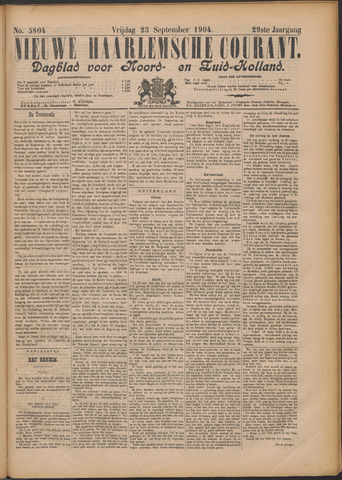 Nieuwe Haarlemsche Courant 1904-09-23