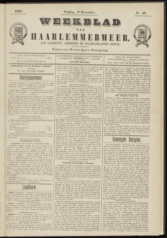 Weekblad van Haarlemmermeer 1881-12-09