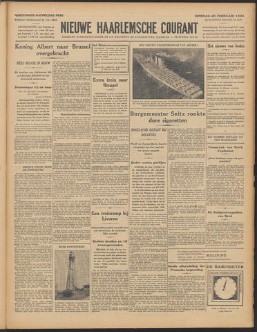 Nieuwe Haarlemsche Courant 1934-02-20