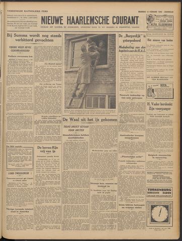 Nieuwe Haarlemsche Courant 1940-02-12