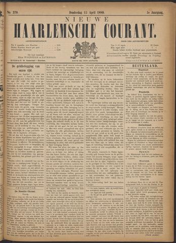 Nieuwe Haarlemsche Courant 1880-04-15