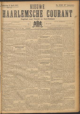 Nieuwe Haarlemsche Courant 1907-04-11