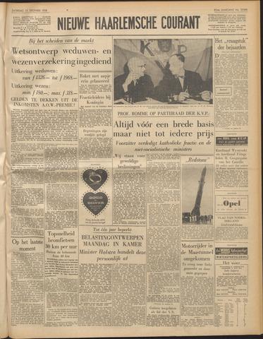 Nieuwe Haarlemsche Courant 1958-12-13