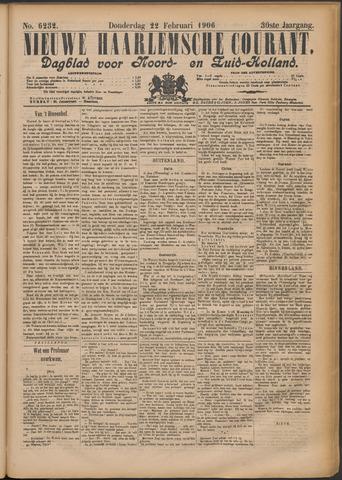 Nieuwe Haarlemsche Courant 1906-02-22
