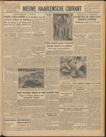Nieuwe Haarlemsche Courant 1950-09-05