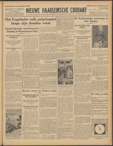 Nieuwe Haarlemsche Courant 1936-01-28