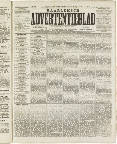 Haarlemsch Advertentieblad 1882-02-08