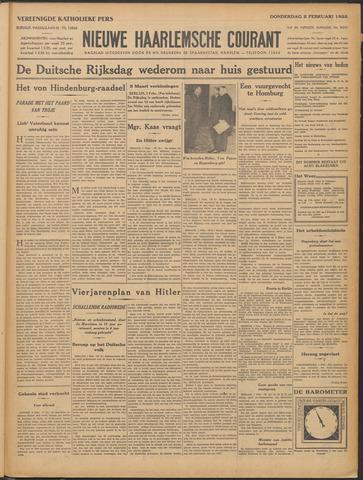 Nieuwe Haarlemsche Courant 1933-02-02