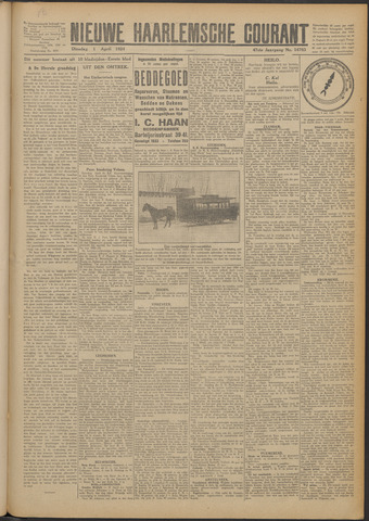 Nieuwe Haarlemsche Courant 1924-04-01