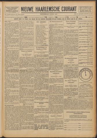 Nieuwe Haarlemsche Courant 1931-07-16