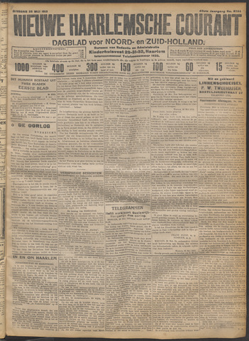 Nieuwe Haarlemsche Courant 1915-05-25