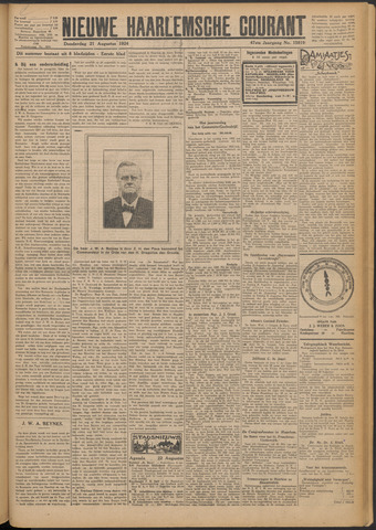 Nieuwe Haarlemsche Courant 1924-08-21