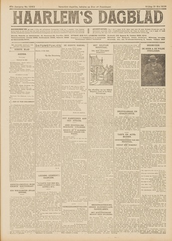 Haarlem's Dagblad 1926-05-21