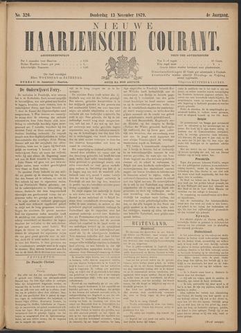 Nieuwe Haarlemsche Courant 1879-11-13
