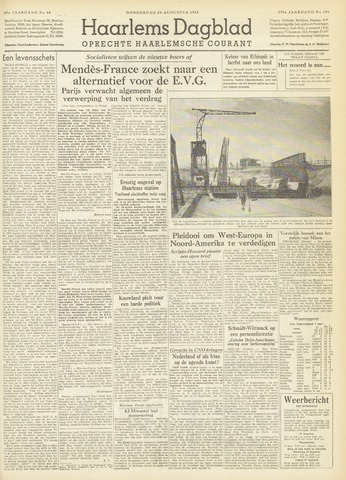Haarlem's Dagblad 1954-08-26