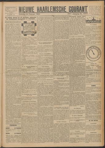 Nieuwe Haarlemsche Courant 1923-02-24