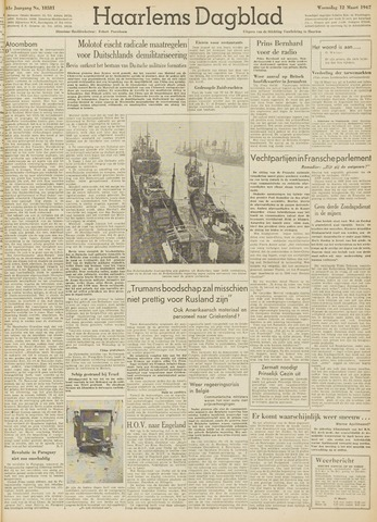 Haarlem's Dagblad 1947-03-12