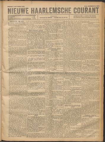 Nieuwe Haarlemsche Courant 1920-09-07