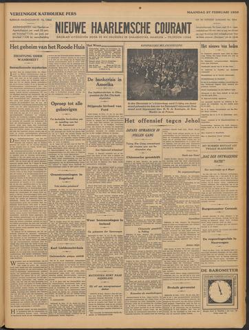 Nieuwe Haarlemsche Courant 1933-02-27