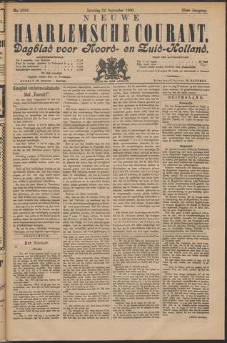 Nieuwe Haarlemsche Courant 1900-09-22