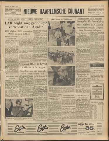Nieuwe Haarlemsche Courant 1960-04-26