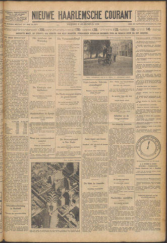 Nieuwe Haarlemsche Courant 1930-08-08