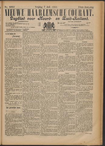 Nieuwe Haarlemsche Courant 1905-07-07