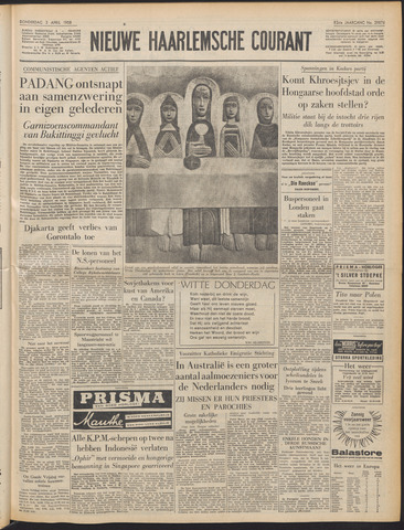 Nieuwe Haarlemsche Courant 1958-04-03