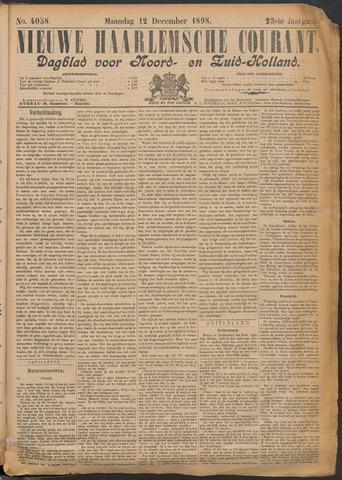 Nieuwe Haarlemsche Courant 1898-12-12