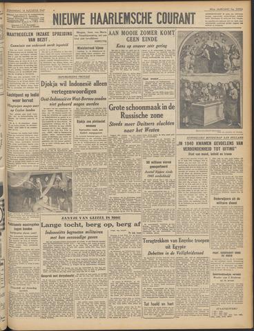 Nieuwe Haarlemsche Courant 1947-08-14