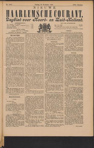 Nieuwe Haarlemsche Courant 1898-11-29