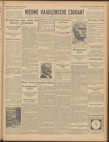 Nieuwe Haarlemsche Courant 1933-11-20