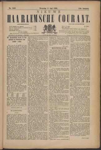 Nieuwe Haarlemsche Courant 1890-06-11