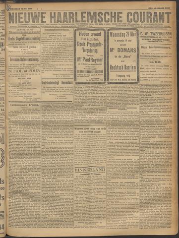 Nieuwe Haarlemsche Courant 1919-05-19