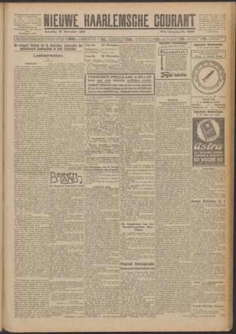 Nieuwe Haarlemsche Courant 1924-11-22