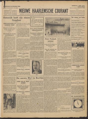 Nieuwe Haarlemsche Courant 1934-05-01