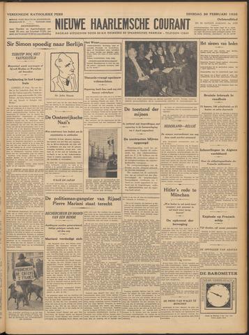 Nieuwe Haarlemsche Courant 1935-02-26
