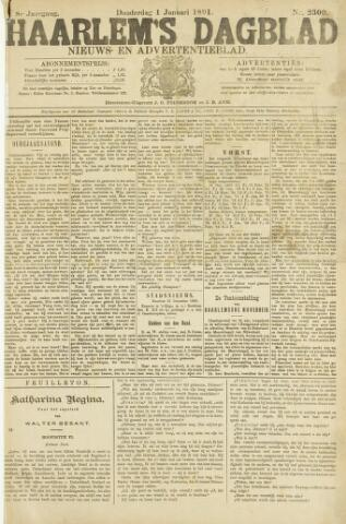 Haarlem's Dagblad 1891