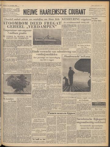 Nieuwe Haarlemsche Courant 1952-10-24