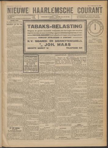 Nieuwe Haarlemsche Courant 1922-03-09