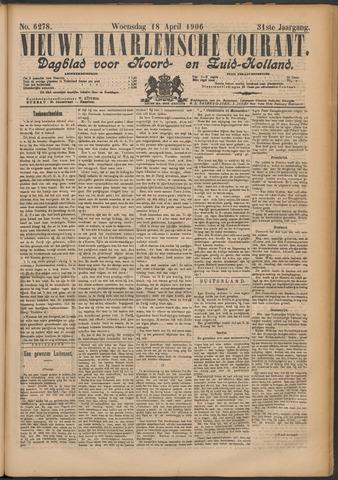 Nieuwe Haarlemsche Courant 1906-04-18
