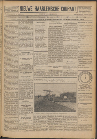 Nieuwe Haarlemsche Courant 1930-01-14