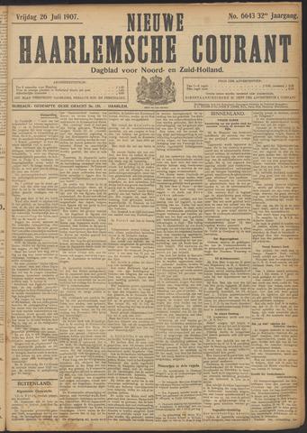 Nieuwe Haarlemsche Courant 1907-07-26