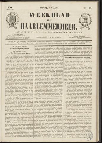 Weekblad van Haarlemmermeer 1860-04-13