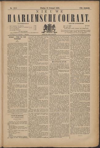 Nieuwe Haarlemsche Courant 1888-02-28