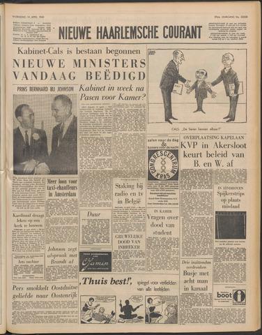 Nieuwe Haarlemsche Courant 1965-04-14