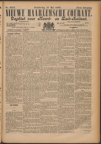 Nieuwe Haarlemsche Courant 1906-05-31